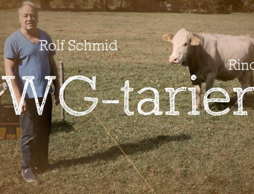 Immer wieder sehenswert: Rolf Schmid auf der Alp