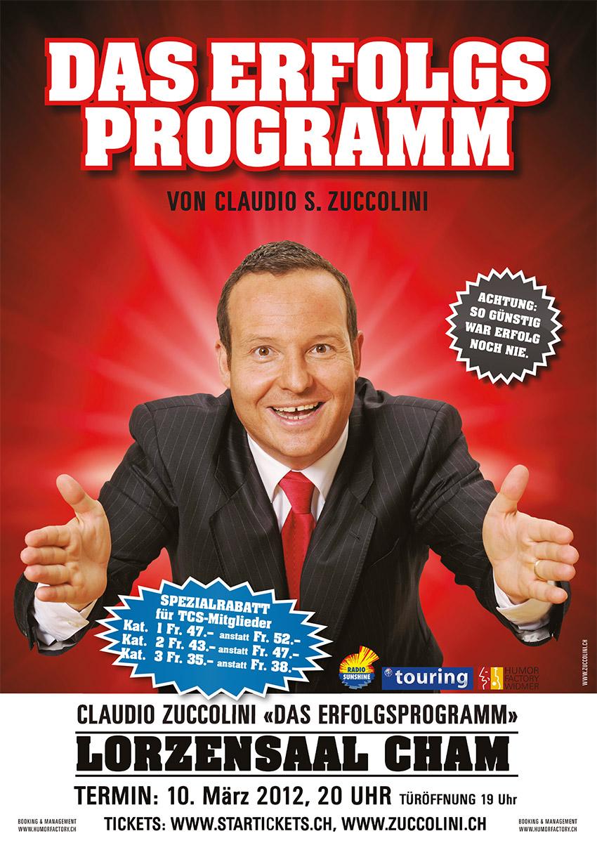 Das Erfolgsporgramm, Claudio Zuccolini, Humorfactory.ch