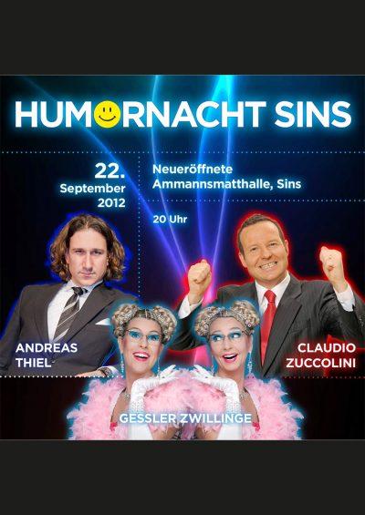 Humornacht Sins, Humorfactory.ch