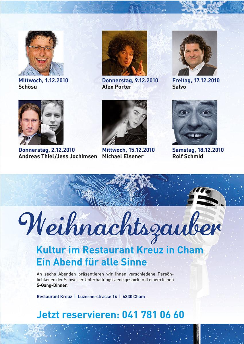 Weihnachtszauber Cham, Humorfactry.ch