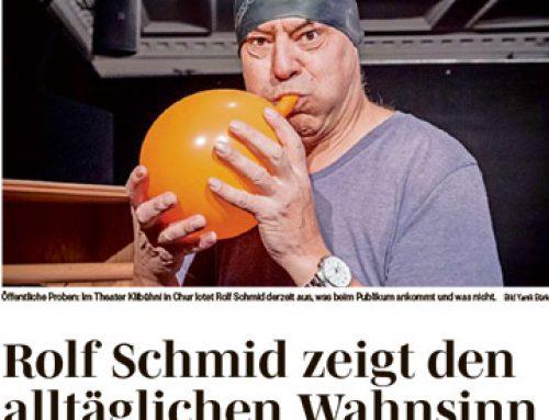 Rolf Schmid zeigt den alltäglichen Wahnsinn