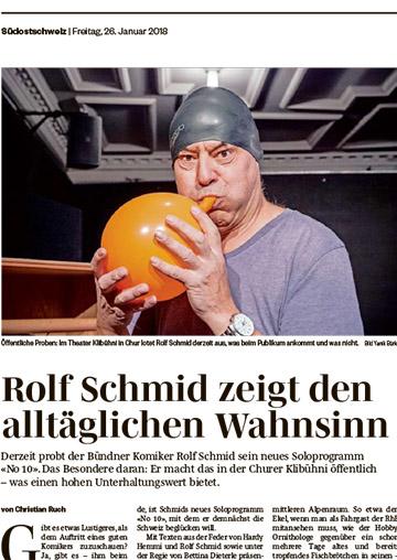 Rolf Schmid zeigt den alltäglichen Wahnsinn, No10, Humorfactory